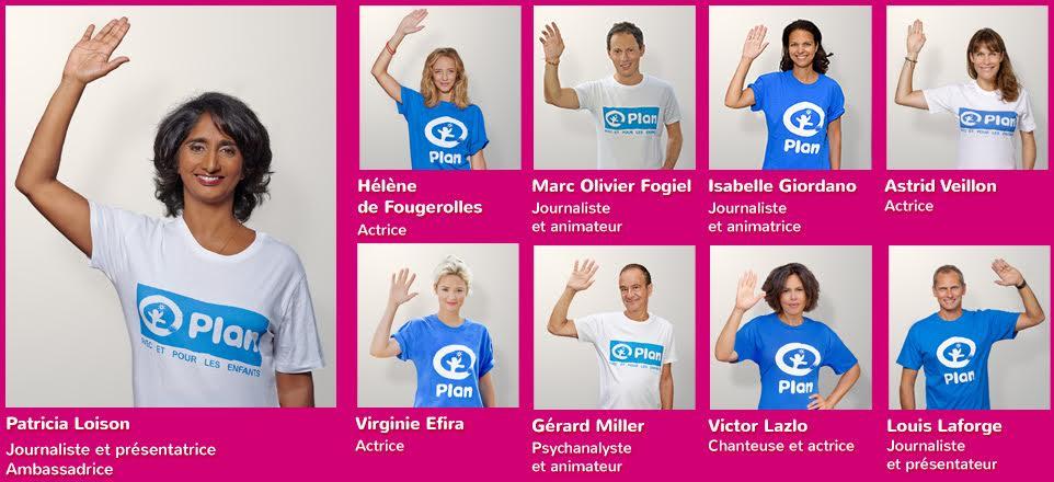 Placement de personnalités : Campagnes publicitaires Plan France