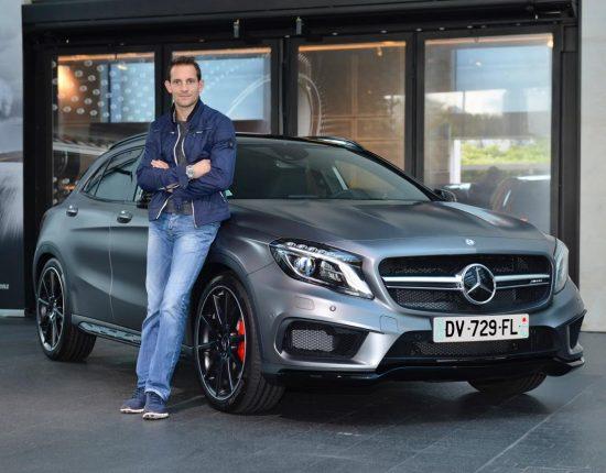 Placement de produit : Club ambassadeurs Mercedes avec Renaud Lavillenie