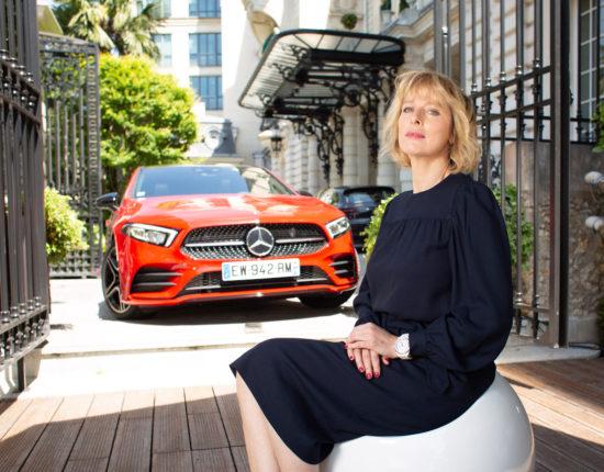 Placement de produit : Club ambassadeurs Mercedes avec Karin Viard