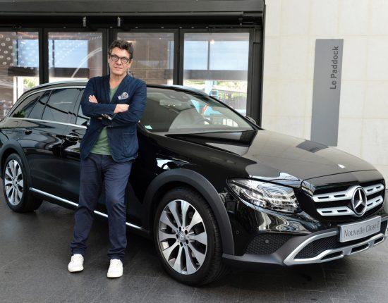 Placement de produit : Club ambassadeurs Mercedes avec Marc Lavoine