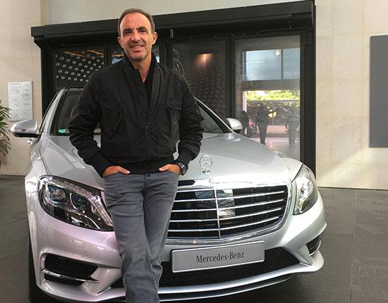 Placement de produit : Club ambassadeurs Mercedes avec Nikos Aliagas