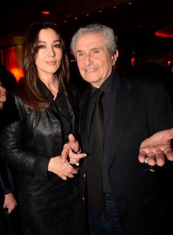 Monica Belluci et Claude Lelouche