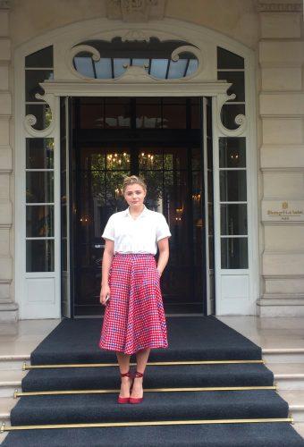 Placement de personnalités Hôtel Shangri-La Paris : Chloé Moretz