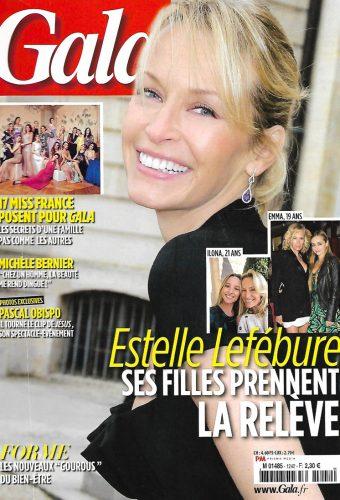 Placement de personnalités : Julie Ferrier dans Gala