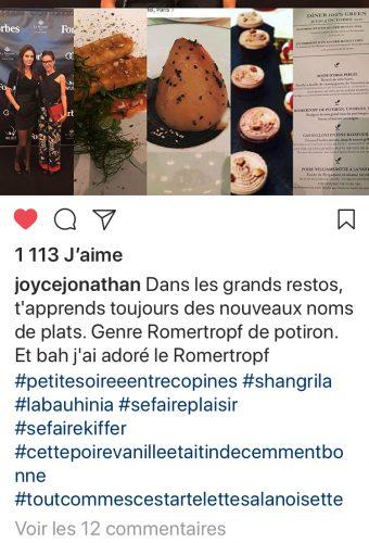 Placement de personnalités Hôtel Shangri-La Paris : Joyce Jonathan - Shangri-La Paris
