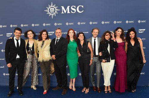 Inauguration Paquebot MSC Croisière - Placement de personnalités