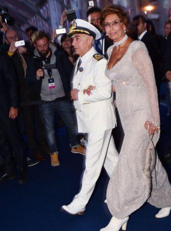 Inauguration Paquebot MSC Croisière avec Sophia Loren - Placement de personnalités