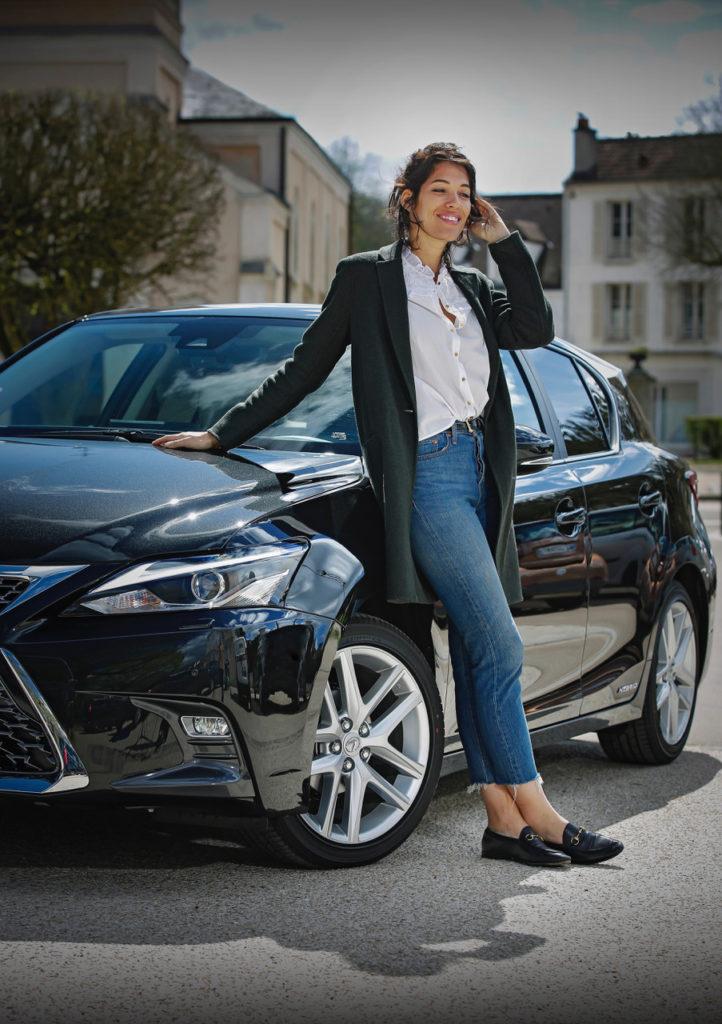Placement produit : Audrey Fleurot / Lexus