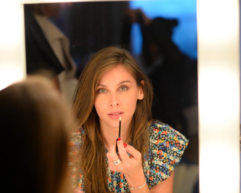 Soirée de lancement de la nouvelle marque de cosmétique Gabrielle Eymard avec Ophélie Meunier