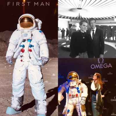 Projection du film First Man en partenariat avec Omega