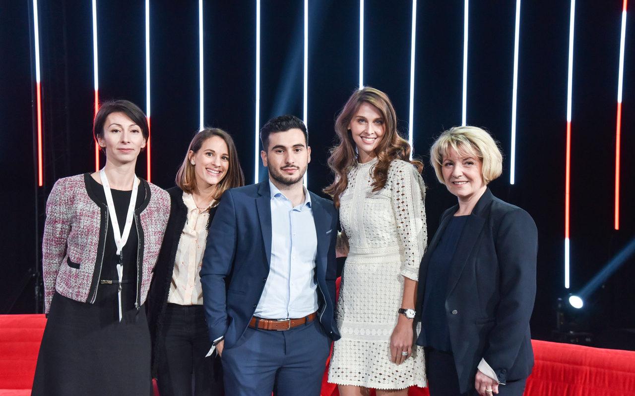 Convention pour les 10 ans de la Caisse d'Epargne Aquitaine Poitou-Charentes avec Ophélie Meunier