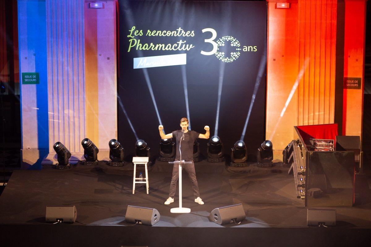 Placement personnalité – Les rencontres Pharmactiv à Marseilles avec Marc-Antoine Lebret