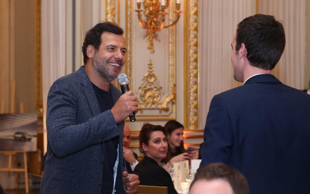 Anniversaire des 30 ans de Lexus au Shangri-la Paris avec Laurent Laffitte