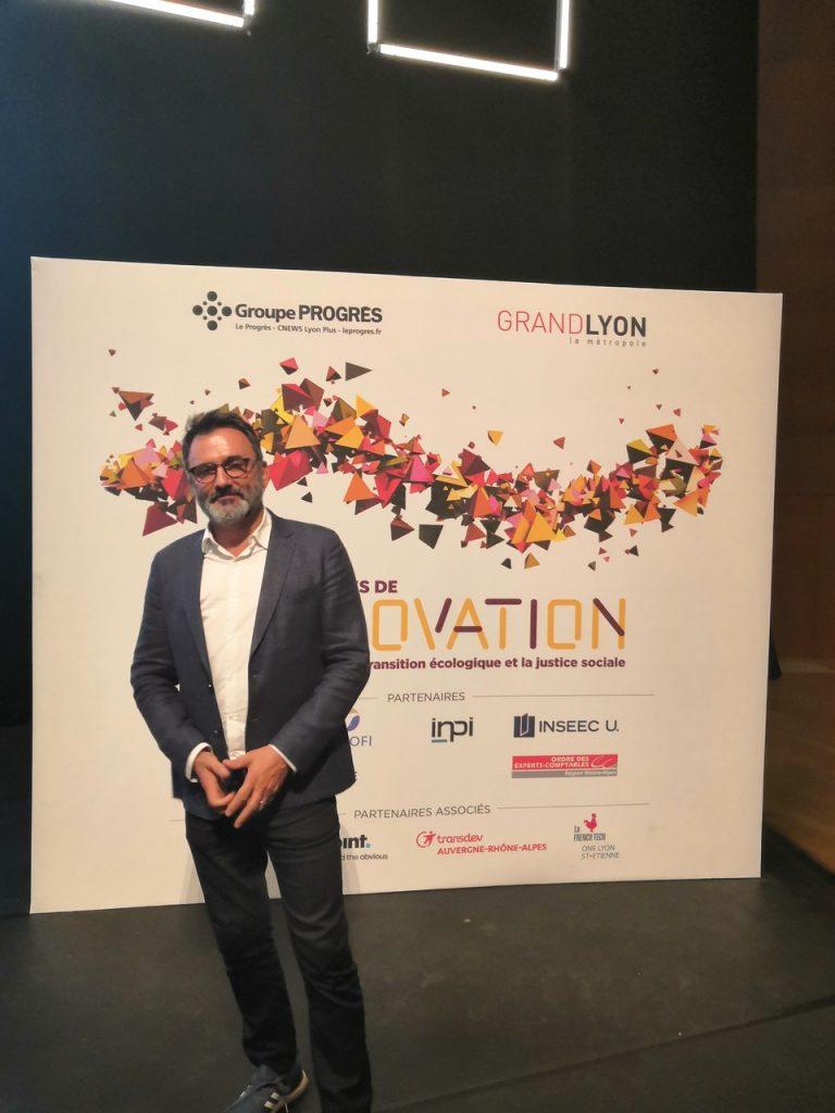 Soirée des Trophées de l'Innovation avec Frédéric Lopez