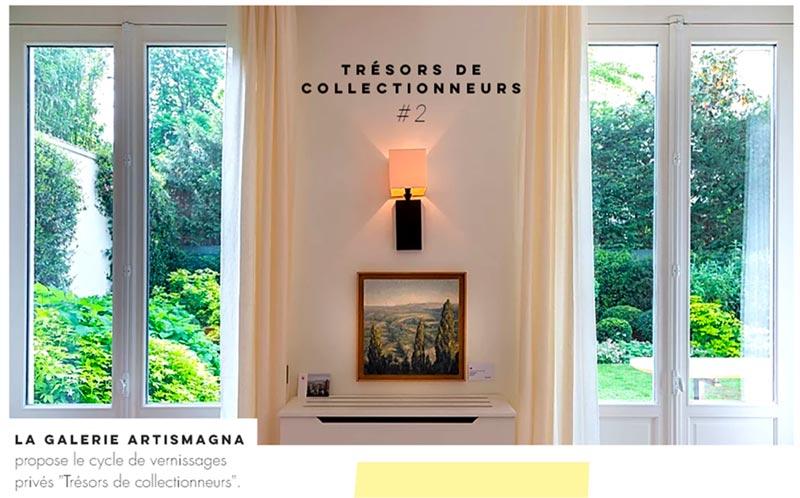 """""""TRÉSORS DE COLLECTIONNEUR #2"""" proposé par la Galerie Artismagna - Influencer Marketing"""
